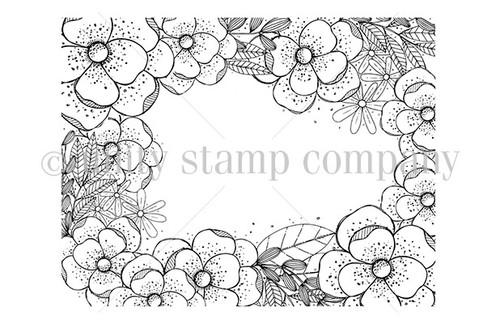Flowers Aplenty {border backgrounds}