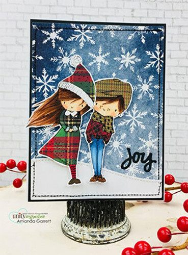 Winter Boy and Girl
