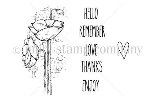 Poppies & Love {uu 9/18}