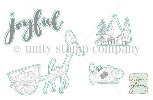 Deer Cart - Digital Cut File
