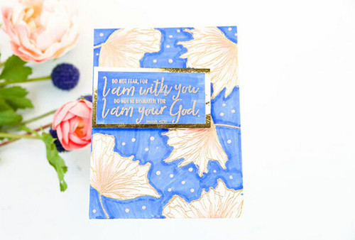 I Am With You {october 2018 sentiment kit}