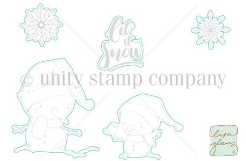 Snow, Snow Cute - Digital Cut File