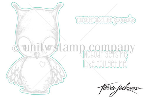 Cuddlebug Owl - Digital Cut File