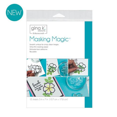 Gina K. Designs Masking Magic Sheets 5 in x 7 in (12 sheets)