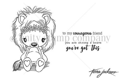 Cuddlebug Lion