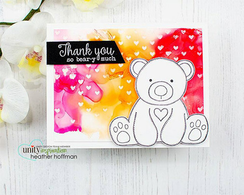 Baby Bear Hugs {march 2019 sentiment kit}