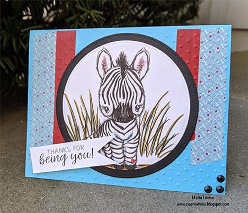 Cuddlebug Zebra