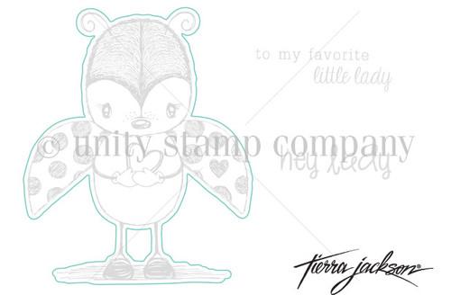 Cuddlebug Ladybug - Digital Cut File