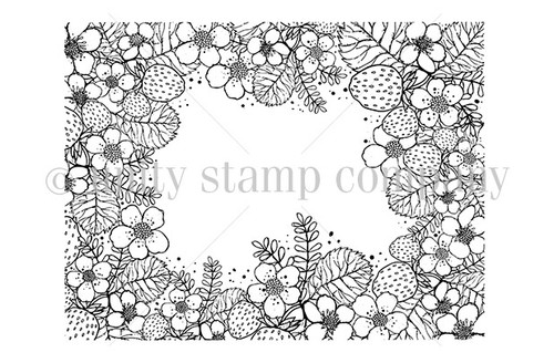 Strawberry Fields {border backgrounds}