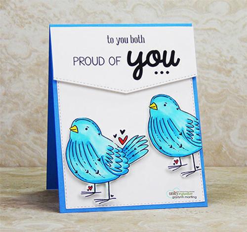 Bird's the Word {June 2019 Sentiment Kit}