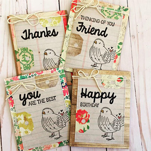 Bird's the Word {June 2019 Sentiment Kit}