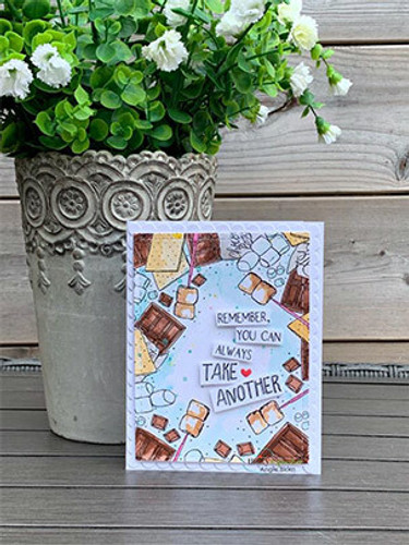 S'mores {border backgrounds}