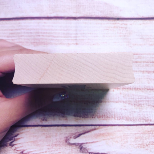 UNITY Cling Wood Stamping Block