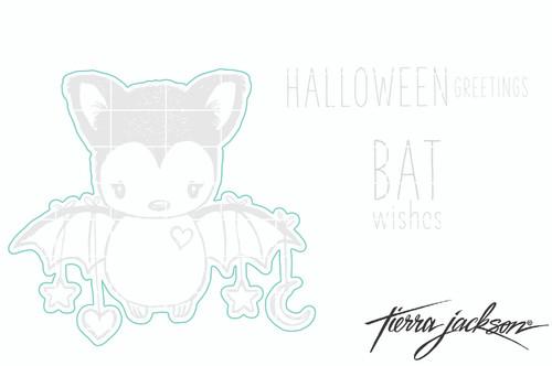 Cuddlebug Bat - Digital Cut File