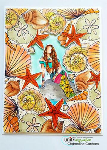 She Sells Sea Shells {border backgrounds}