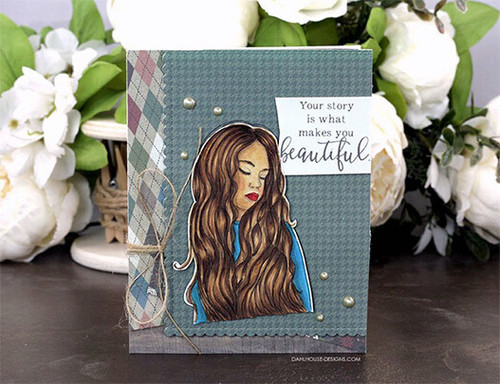 Patience with Yourself {august 2019 sentiment kit}