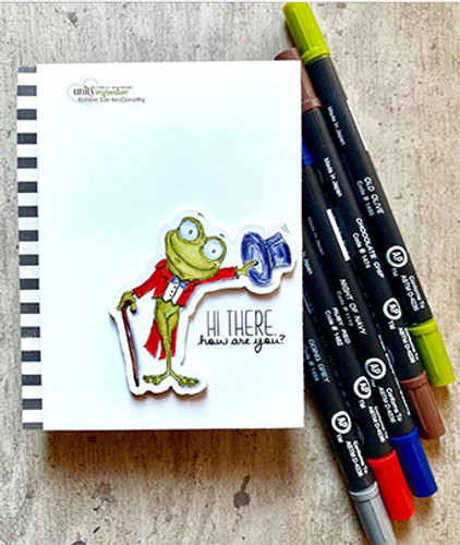 Salutation Toad