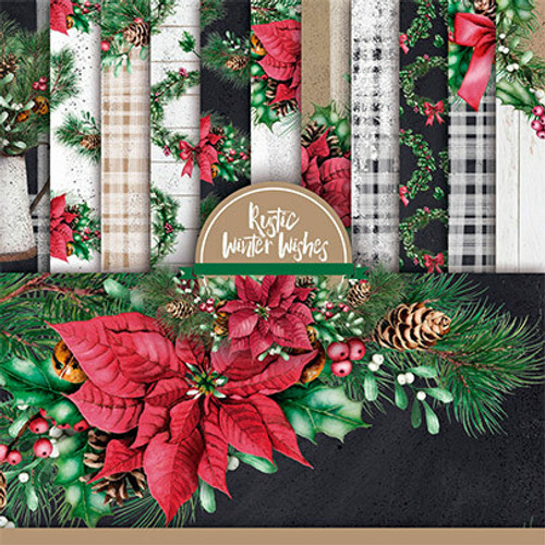 Rustic Winter Wishes {Paper Pack}