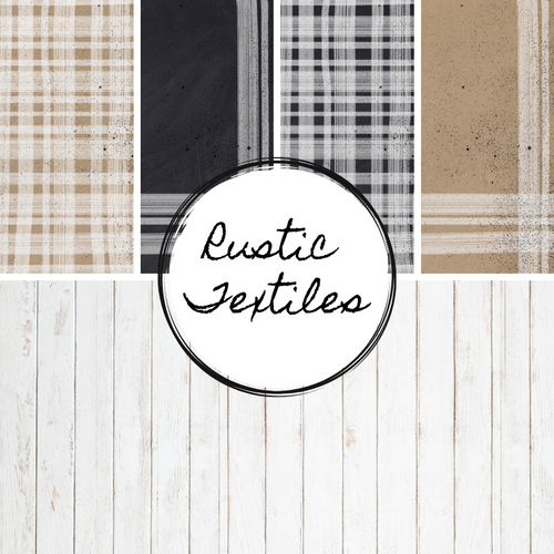 Rustic Textiles {Paper Pack}