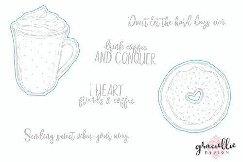 Coffee Lovers - Digital Cut File