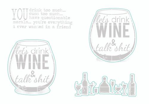Drink & Cuss - Digital Cut File