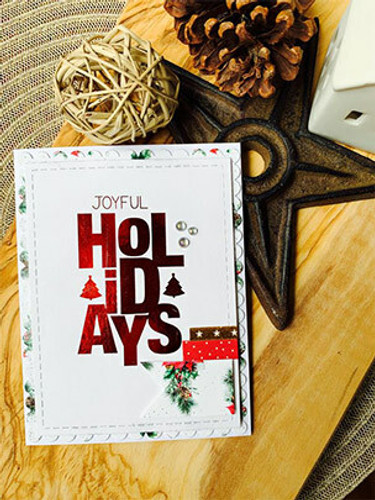 Say It Big {holiday} {october 2019 sentiment Kit}