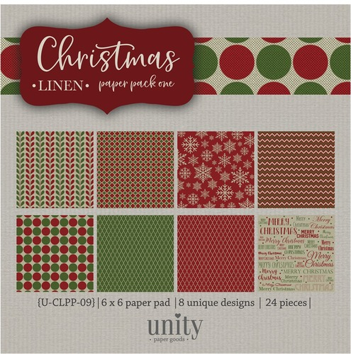 Christmas Linen- {Paper Pack} One