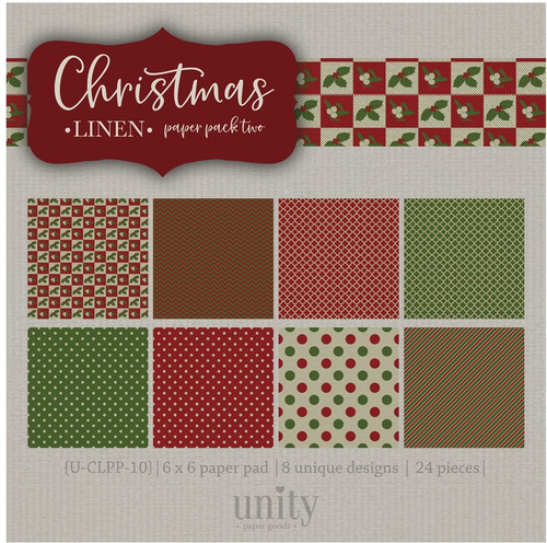 Christmas Linen- {Paper Pack} Two