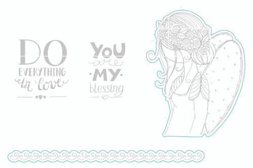 You Are My Blessing - Digital Cut File