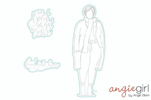 Sienna Girl - Digital Cut File