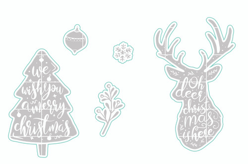 Oh Deer-It's Here - Digital Cut File