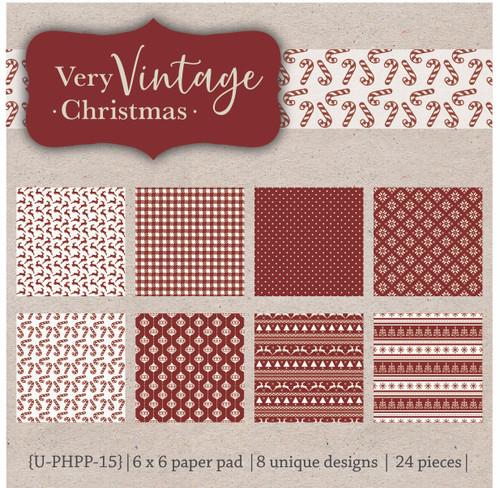Very Vintage Christmas {paper pack}
