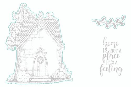 Cozy Cottage - Digital Cut File