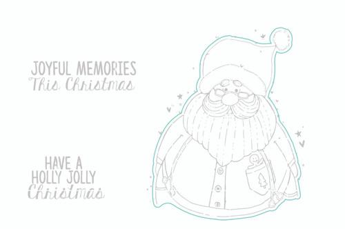 Jolly Ol' Santa - Digital Cut File