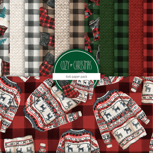 Cozy Christmas {paper pack}