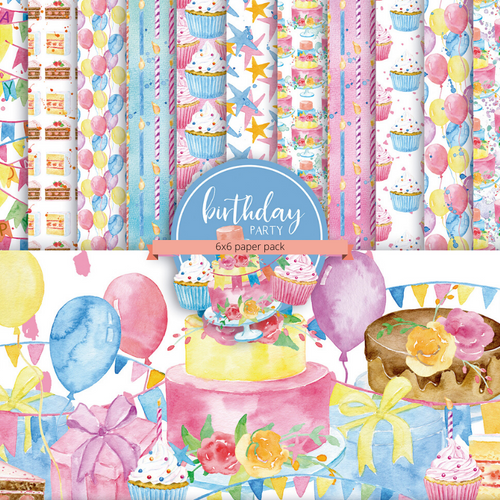 Birthday Party {paper pack}