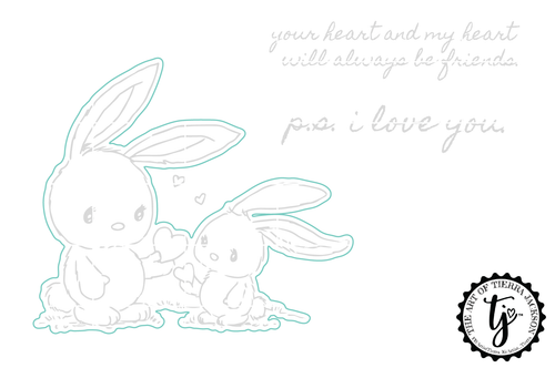 P.S. I Love You - Digital Cut File