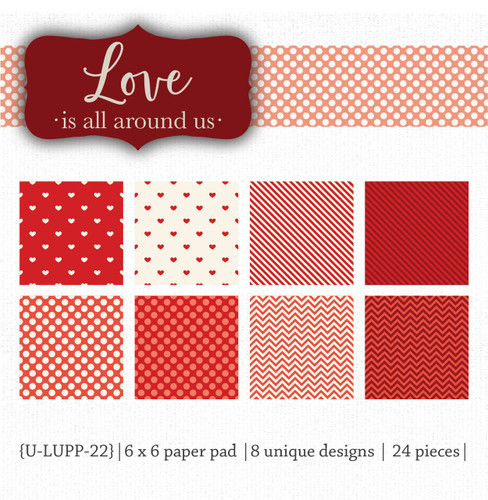 Love is All Around Us {paper pack}