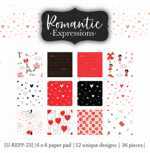 Romantic Expressions {paper pack}