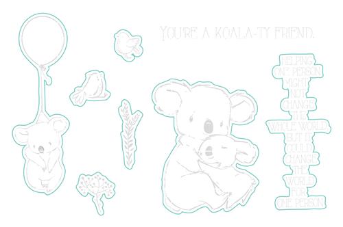 Koala-ty Friend - Digital Cut File