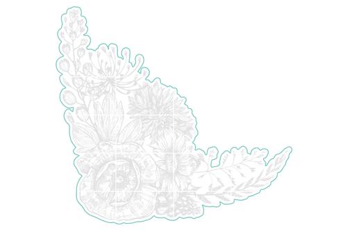 Poppy Corner - Digital Cut File