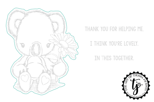 Cuddlebug Koala - Digital Cut File