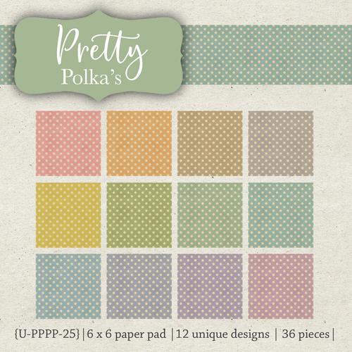 Pretty Polkas {paper pack}