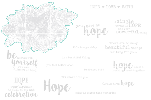 Hope Is a Beautiful Thing - Digital Cut File