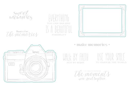 Sweet Memories - Digital Cut File