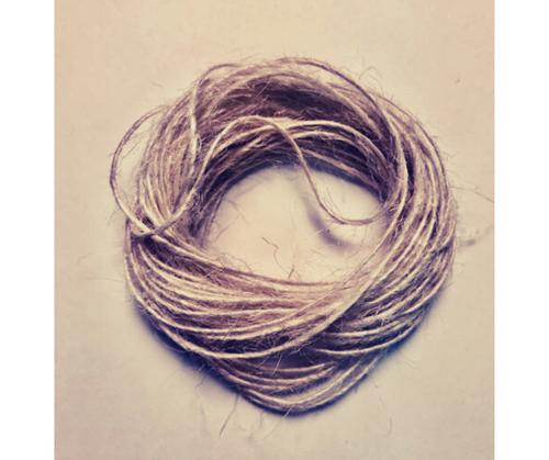{Natural} May Arts Burlap String 1mmX6yds
