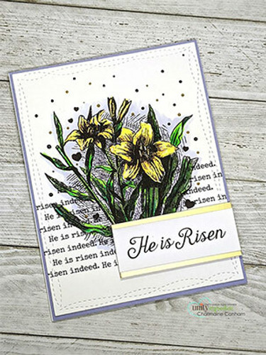 Easter Lily Blessings {march 2020 sentiment kit}