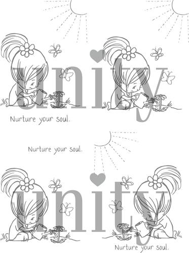 Nurture Your Soul {digital stamp}