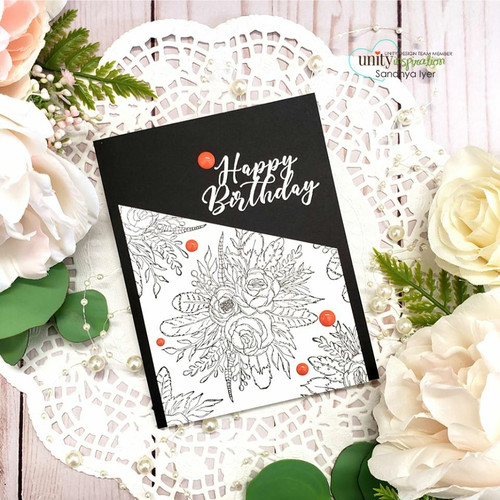 Hello Sweetheart Bouquet {may 2020 sentiment kit}