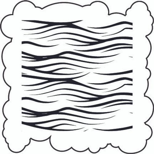 Cloud & Wave - Stencil